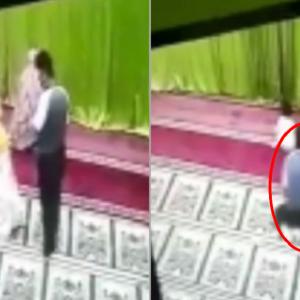 Jijik! Bagi Jari Tengah Lepas Cabul Budak Solat Belakang Ibu Di Masjid