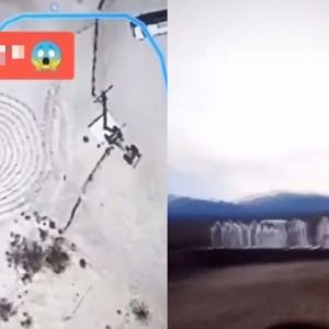 Foto Google Earth Tular, Siapa Sekumpulan Lelaki Berpakaian Putih Di Tengah Gurun?