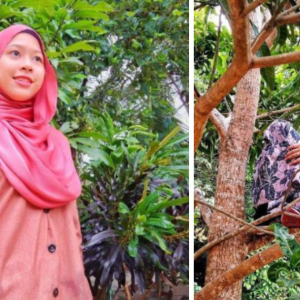 YouTuber Tak Ambil Hati Dikata Macam Monyet Berbaju Kurung Panjat Pokok