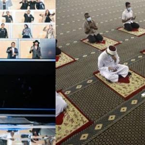 50 Selebriti Di Program Realiti ATMN? Netizen Bandingkan Dengan Kapasiti Kehadiran Jemaah Masjid