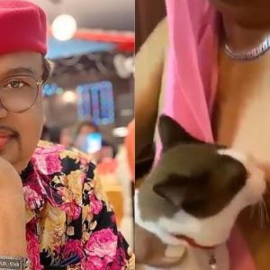 Netizen Trauma Tengok Video Kucing Jilat Puting Jaafar Onn