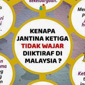 Tuntut Penjelasan, JAKIM Keluar 6 Sebab Jantina Ketiga Tak Wajar Diiktiraf Di Malaysia