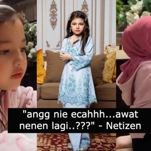 """""""Pakai kemain vouge, sekali nenen time"""" Gelagat Aaisyah Dhia Rana hisap susu botol cuit hati ramai"""