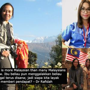 """Dr Amalina """"pembelot"""" sebab tak balik kerja di Malaysia? Dr Rafidah bidas """"suara-suara sumbang"""""""