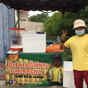 Bisnes Air Jagung Amir Raja Lawak Bantu Ramai Orang Cari Duit