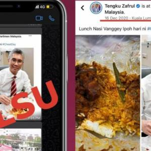 Lucu Kata Saya Pesan Nasi Ganja Guna Helikopter - Tengku Zafrul