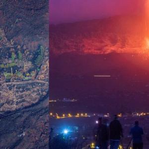 'Rumah Ajaib' Selamat Dari Lava Di Kepulauan Canary
