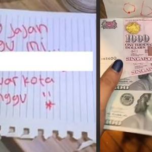 Ditinggalkan Seminggu, Wanita Dapat Duit Belanja RM7,000 Daripada Kekasih