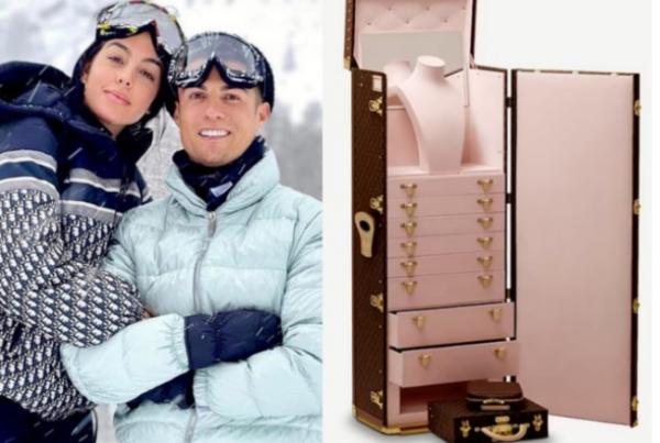Hadiah Peti Barang Kemas Berharga RM615,000, Untungnya Jadi Kekasih Christiano Ronaldo